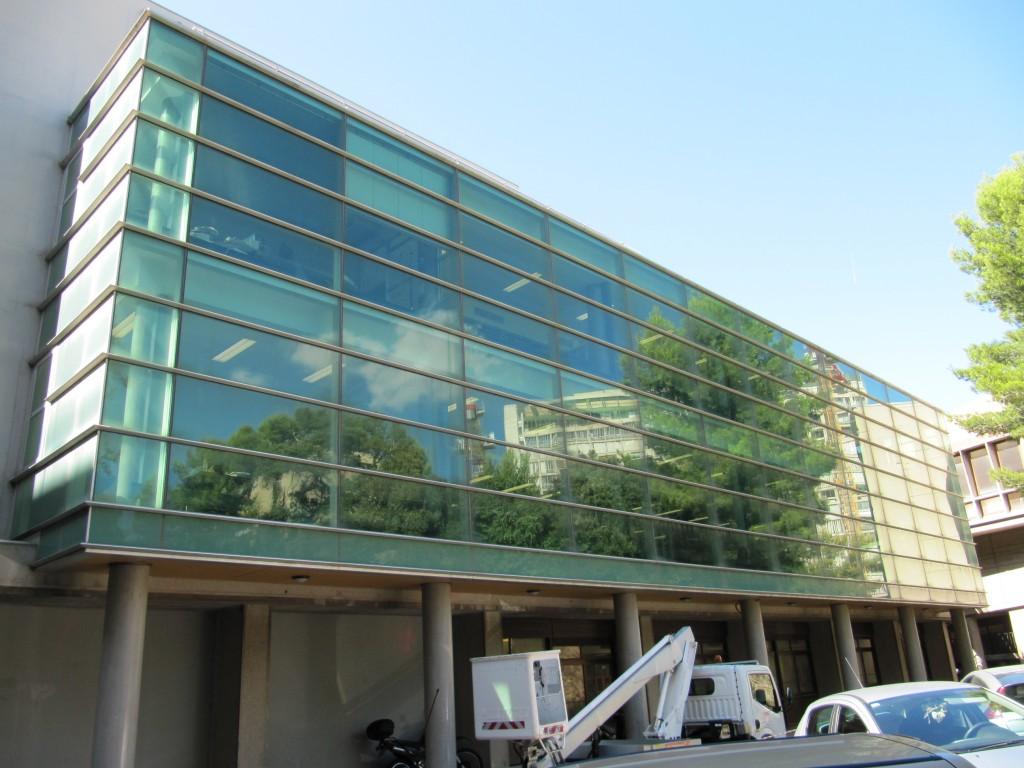 Film solaire sans miroir Marseille Faculté La Timone