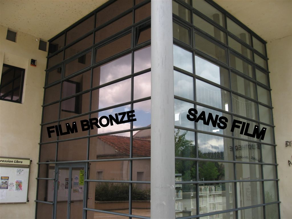Films de discr tion et d 39 intimit vitres teint es toulon for Verre miroir sans tain